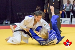 Tami wins by ippon!