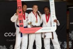 Sydney Edgson - gold in U16 -63