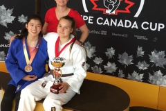 Congratulations to Tami and Sydney for winning silver and gold respectively at the Canada Cup in Montreal  on Canada Day 2018