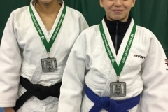 Tami and Corbin at the 2018 Sask Open. Congrats on your excellent performances!