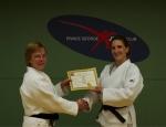 Katie Receives her Sandan (3rd Degree Black Belt)